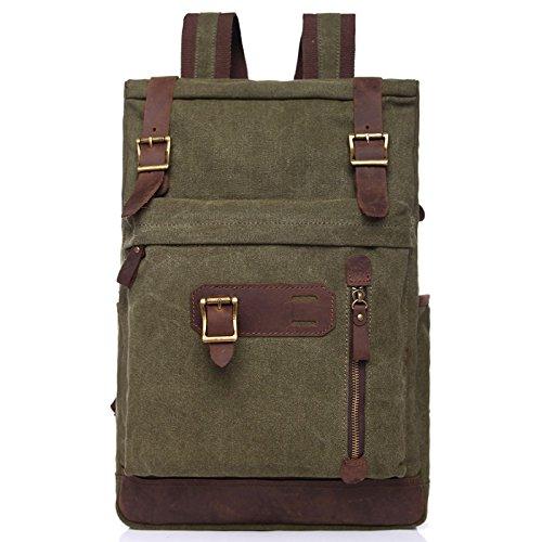 Lienzo Bolsos con bandoleras mochilas escolares deportes mochilas , verdes del ejšŠrcito: Amazon.es: Equipaje