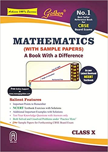 Golden Mathematics: With Sample Papers A book with a