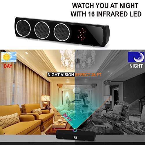 Hidden Camera WiFi HD 1080P Spy Surveillance Camera Motion