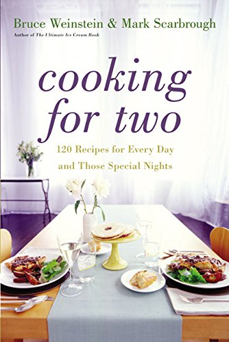 Cooking for Two: 120 Recipes for Every Day and Those Special Nights by Bruce Weinstein, Mark Scarbrough
