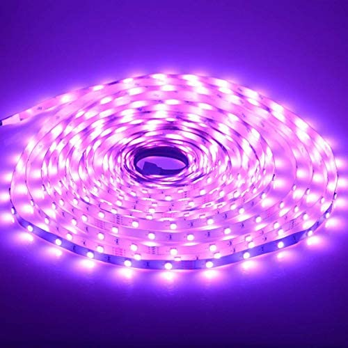 [65.6ft /20m] RGB LED Strip Lights Ultra-Long Color Changing Light Strip with Remote, 600LEDs Bright LED Lights, DIY Color Options Tape Lights with ETL Listed Adapter for Bedroom Ceiling Under Cabinet