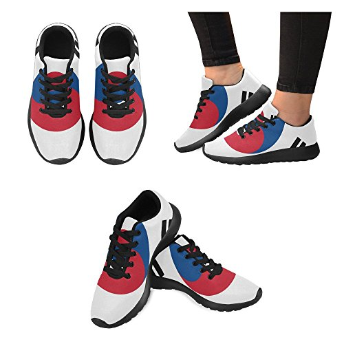 Honey Day House Custom South Korea Flag Fashion Comfortable Sports Running Shoes