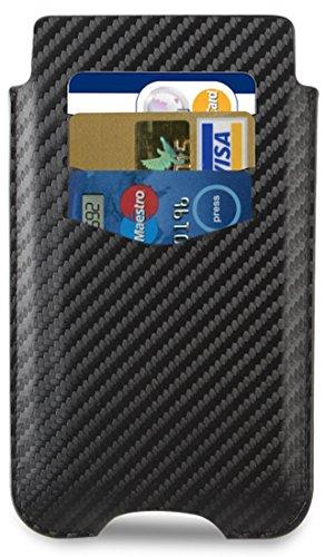 Sony Xperia Z1 Carbon Black Wallet Slip Case - SMA3136CF