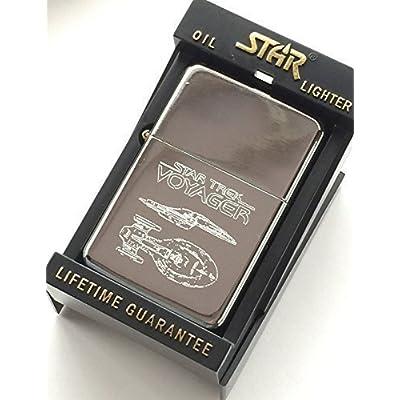 Star Trek Voyager étoile Argenté Briquet Fantaisie Badge (T31) 59 mm