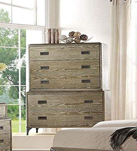 ACME Athouman Weathered Oak Chest