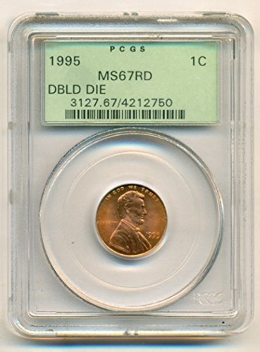 1995 Lincoln Memorial Double Die (Obverse) Cent MS67 RD PCGS OGH (Cent Double Die)