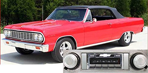 Cable Chevelle - 1964 Chevelle Malibu USA-630 II High Power 300 watt AM FM Car Stereo/Radio with iPod Docking Cable