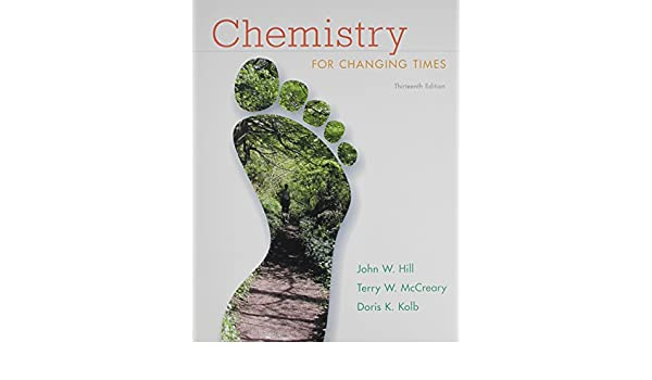 Amazon.com: Chemistry for Changing Times and MasteringChemistry ...