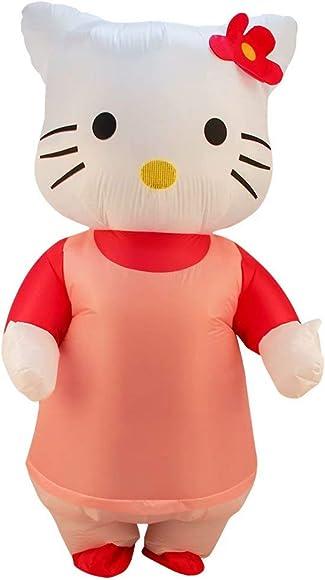 Hello Kitty Costume Adult Halloween Fancy Dress