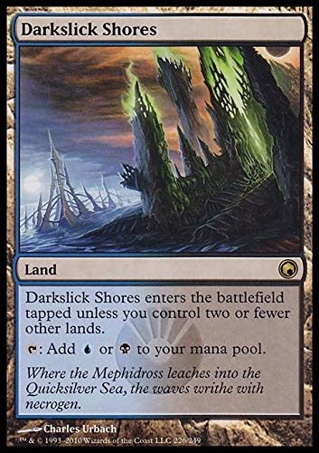 Magic: The Gathering - Darkslick Shores - Scars of Mirrodin