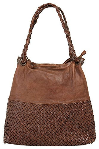Samantha Look Shopper Vera Pelle Cognac Donna 019243