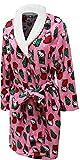 Hello Kitty Women's Printed Plush Robe, Pink, Large
