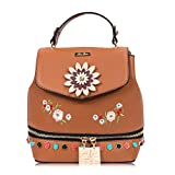 RenDian Women's Mini Cute Fashion Backpack Purse Anti Theft Leather Shoulder Bags, for Travel/School/Leisure…