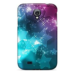 Dkbmpqk7933raYkG Case Cover Star Abstract Design Galaxy S4 Protective Case