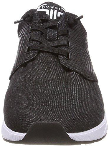 Bugatti Men's 341483016900 Low-Top Sneakers Black (Schwarz) mLUWHhbnb