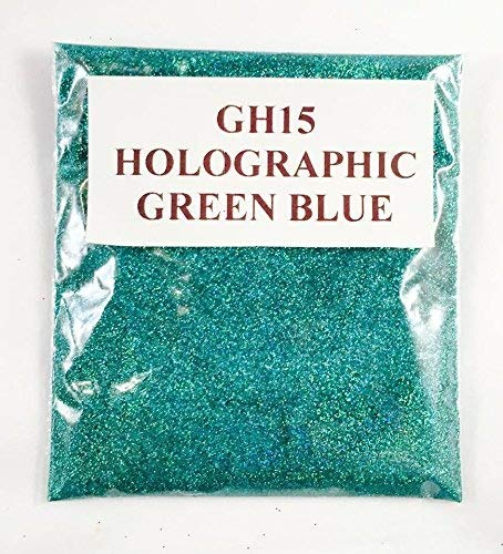 (GH15 – HOLOGRAPHIC GREEN BLUE 100G) GLITTER NAIL ART COSMETIC CRAFT FLORIST WINE GLASS GLITTER TATTOO N/A