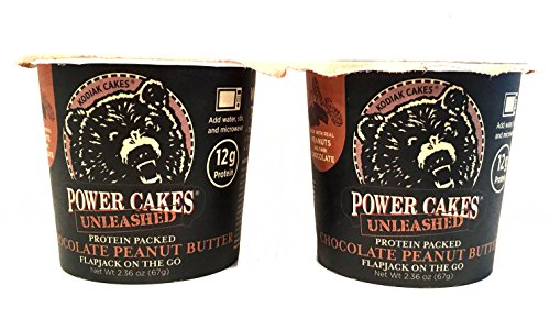 Kodiak Cakes - Protein Packed Flapjack On The Go Pancake Chocolate Peanut Butter -  2.36 oz (Butter Chocolate Cake Peanut)