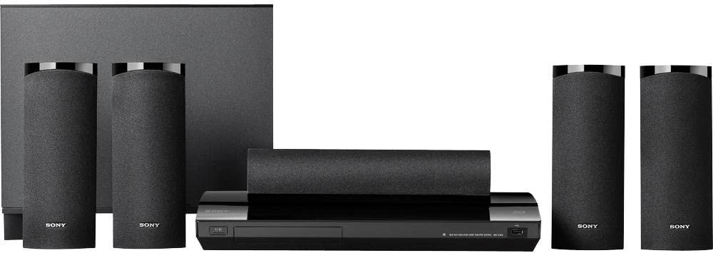 Sony BDV-E580 Blu-Ray Disc Player Home Entertainment System (Black) (Discontinued by Manufacturer)
