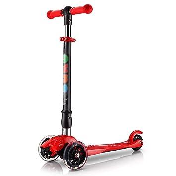 Patinetes de tres ruedas Scooter Plegable de Estilo Libre ...