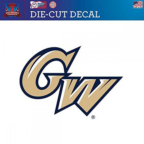 George Washington University Colonials Die Cut Vinyl Decal 2 (Approx 6x6)
