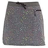 White Sierra Lakelet Printed Skort, Black, 14