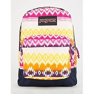 Jansport Black Label Superbreak Cyber Pink Tribal Ombre Backpack