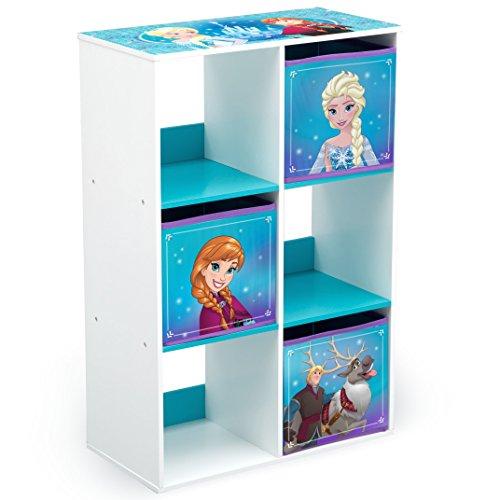 Delta Children 6 Cubby Storage Unit Disney Frozen  sc 1 st  Amazon.com & Princess Storage Bin: Amazon.com