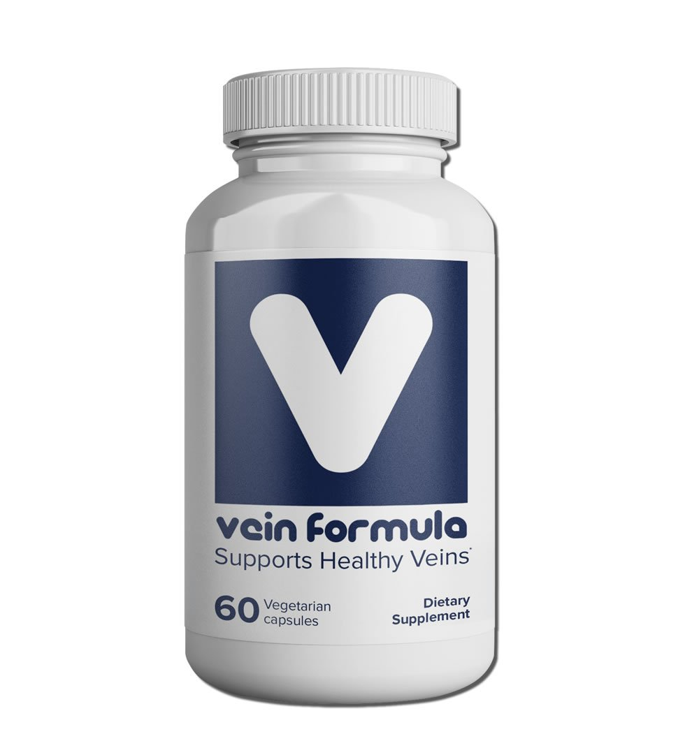 BiosupportMD Vein Formula – 60 capsules, 2 month supply, Supports Normal Venous Function
