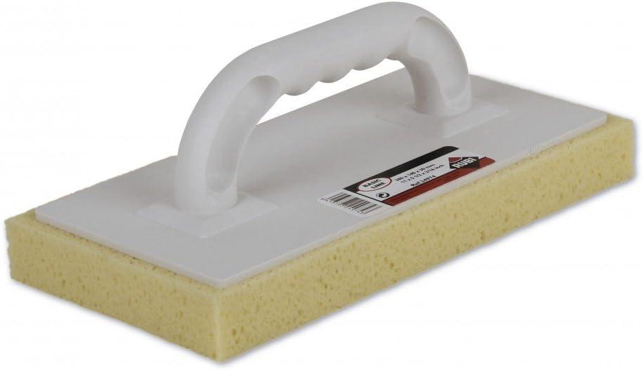 RUBI 24974 Talocha con esponja, Blanco, 28 x 14 x 3 cm