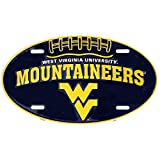 Signs 4 Fun SLO70019 WV Univ. Mountaineer Oval License Plate