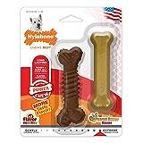 Nylabone NR302TPP DuraChew Regular Chicken Flavored Textured Bone Dog Chew Toy