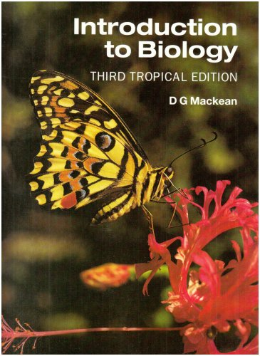 Introduction to Biology Third Tropical Edition