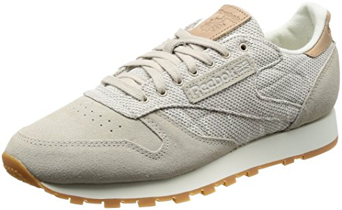 Chaussures Ebk Gum Reebok sandstone Marron Fitness Cl Leather De Multicolore Chalk Homme qtww7EpR
