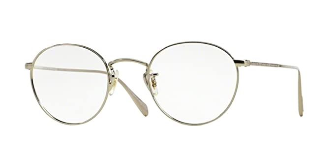 outlet f5f85 7bd5a Amazon.com: New Oliver Peoples OV 1186 COLERIDGE 5036 SILVER ...