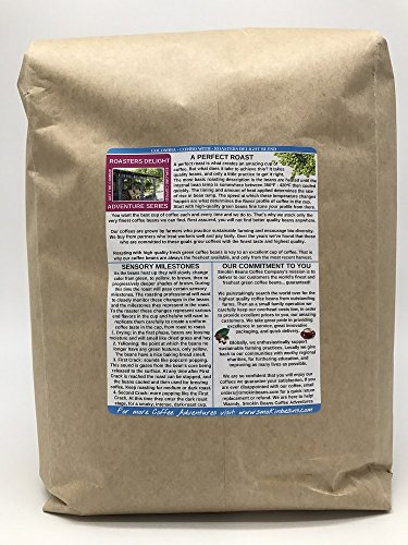 12.5 Pounds – South American – Colombia Excelso – Unroasted Arabica Green Coffee Beans – Grown in Huila Region…