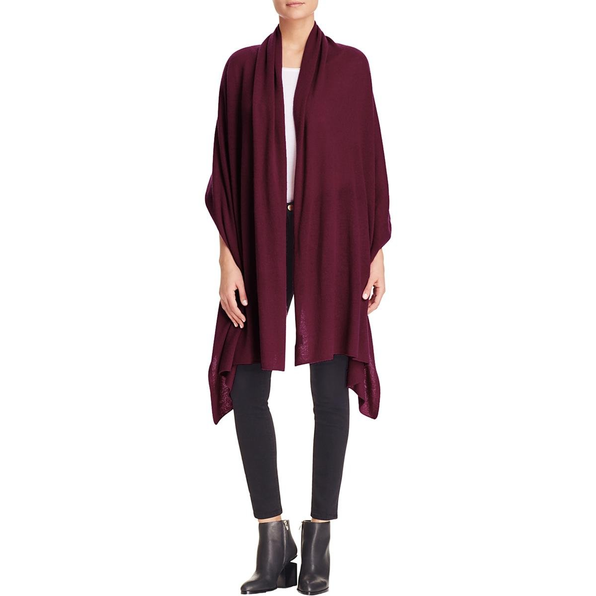 Private Label Womens Travel Cashmere Soft Wrap Red O/S