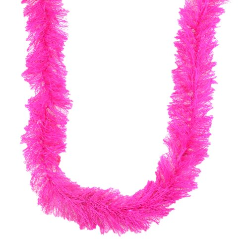 Touch of Nature 2-Yard 28gm Thread Garland with Metallic Lurex, Hot Pink