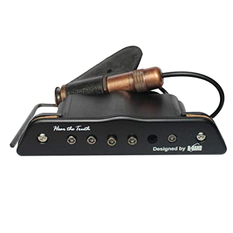 Amplificador de volumen de ecualizador de sonido de guitarra acústica pasiva Sguan-wu para sistema
