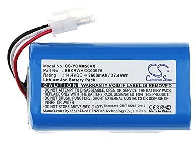 Akku Batterie 2600mAh für ICLEBO ARTE YCR-M05 Smart YCR-M04-1 POP YCR-M05-P