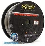 SQPH4BK - Soundquest 4 GA 100 Feet Power Wire Matte Black