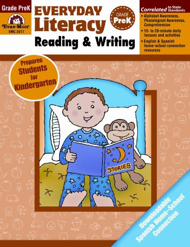 Everyday Literacy Reading and Writing, Grade Pre-K