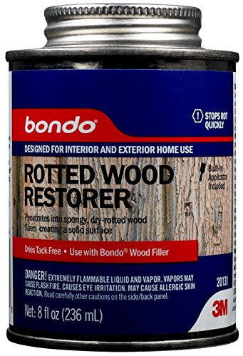 - Bondo 20131 Rotted Wood Restorer - 8 oz.,