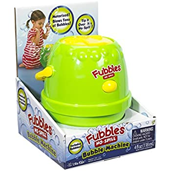 Little Kids Fubbles Bubble Machine, Green/Yellow