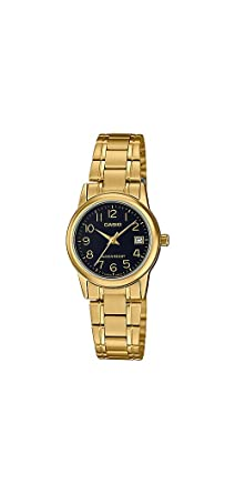 4304feb56ee Relógio Feminino Casio Analógico LTP-V002G-1BUDF-BR - Dourado ...