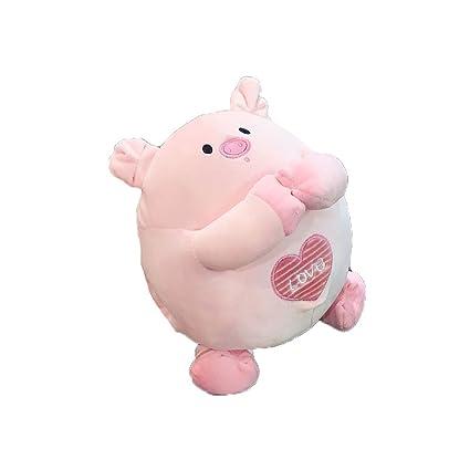 Amazon Com Cartoon Cute Embroidery Plush Doll 3d Animals Bear Pig