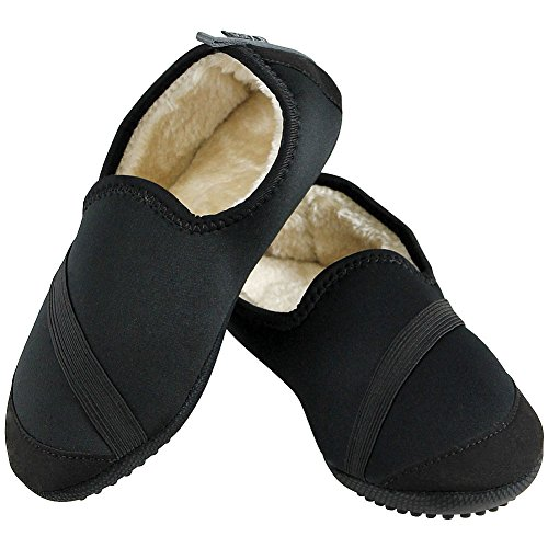 Sherpa Faux Resistant Kozi Indoor Slip Kicks Outdoor w Slippers Lining 04Cq8