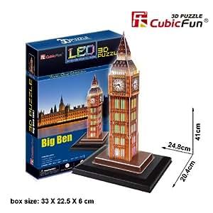 Big Ben LED Londres De 3D Puzzle