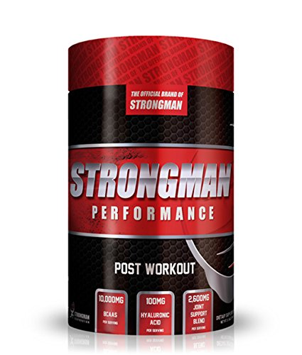 Strongman Airplane Punch Post-Workout Powder 30 Servings