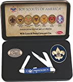 Case Cutlery CA18037 Boy Scout Stockman Gift Set 4318SS Pattern Stockman Hunting Knives, Medium
