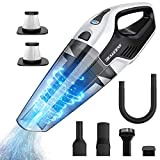 Cordless Handheld Vacuum, 8Kpa Hand Vacuum Cleaner with Multi-Functional Accessories, 14.8V Lithium with Quick Charge, Lightweight Hand Vac for Home Pet Hair Car Cleaning by BEAUDENS